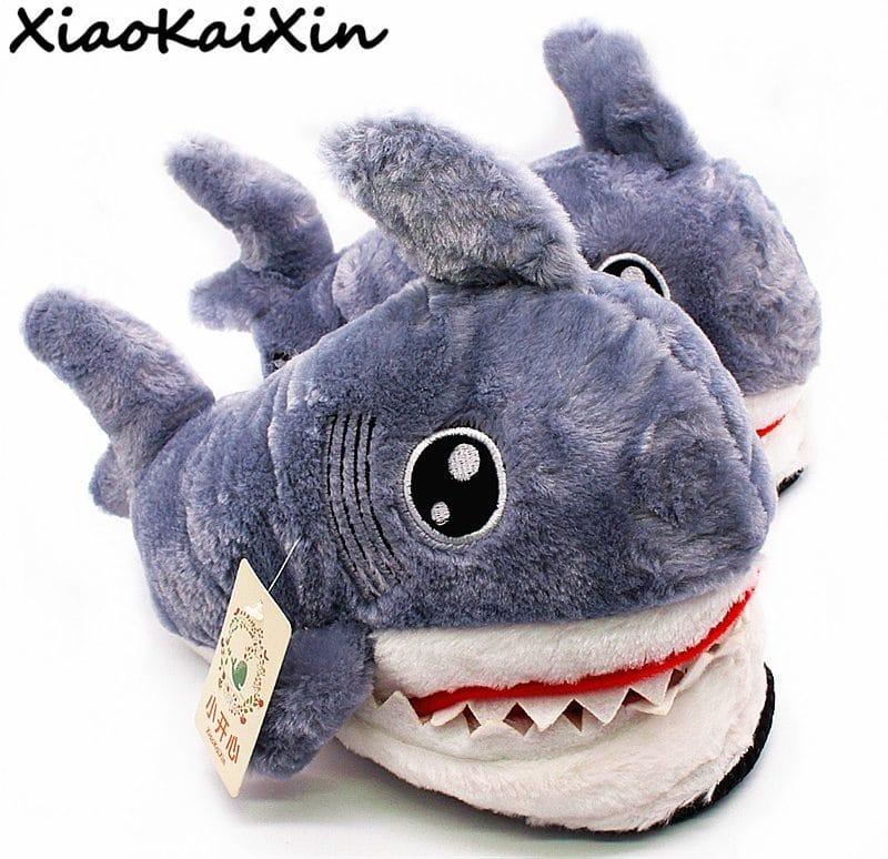 Тапочки-акулы купить на Алиэкспресс