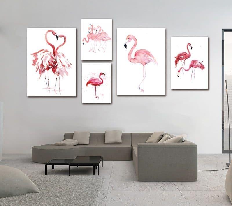 Картина «Фламинго» купить на Алиэкспресс