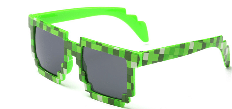 Пиксельные очки Майнкрафт купить на Алиэкспресс