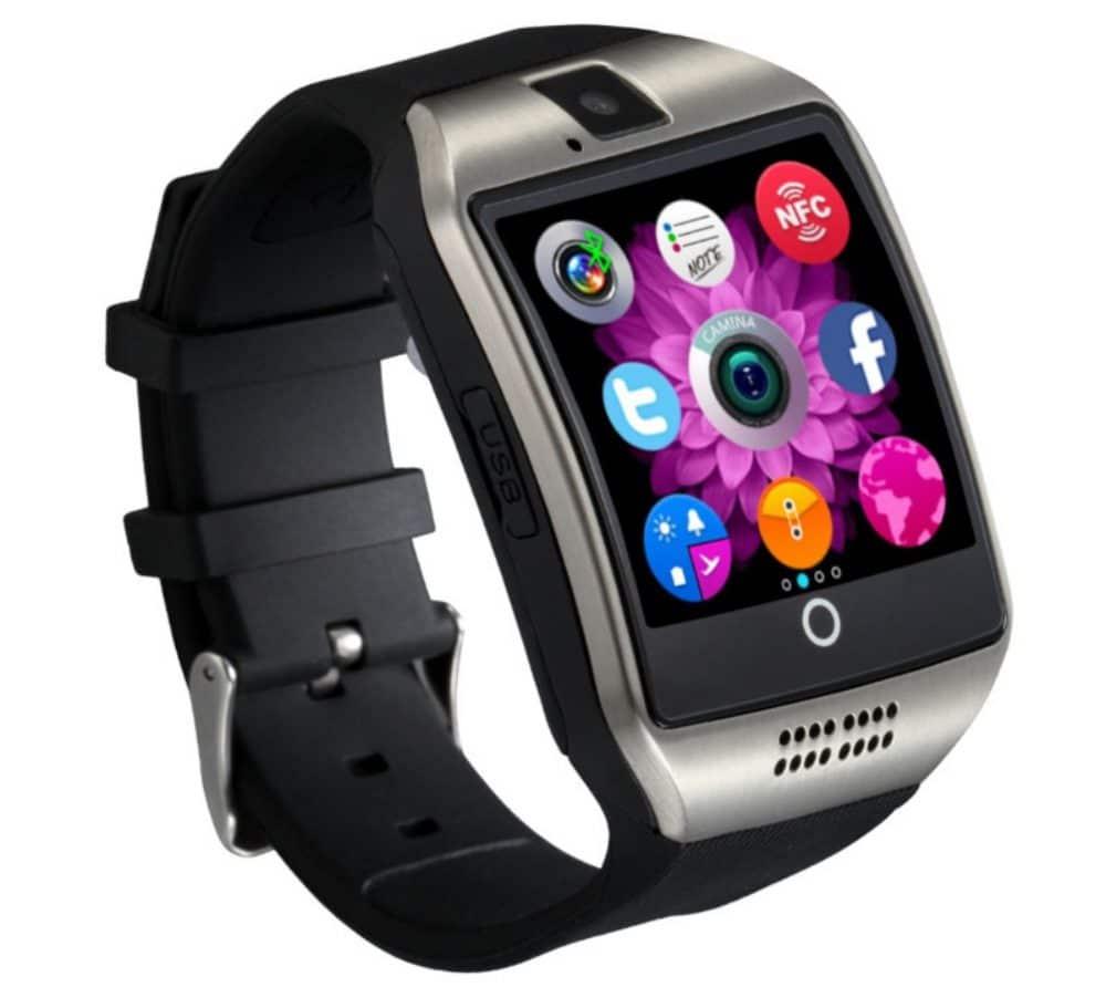 Дешевые универсальные смарт-часы EDAL Q18 Smart watch купить на Алиэкспресс