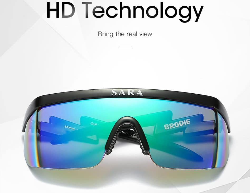 Крутые спортивные очки с фильтром от вредных лучей купить на Алиэкспресс