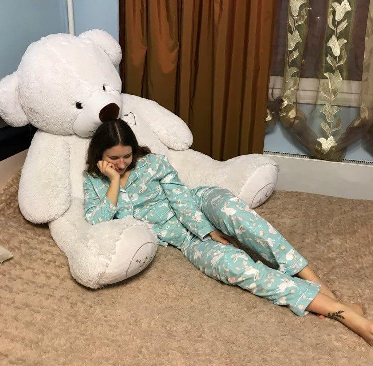 Хлопковая пижама с длинным рукавом купить на Алиэкспресс