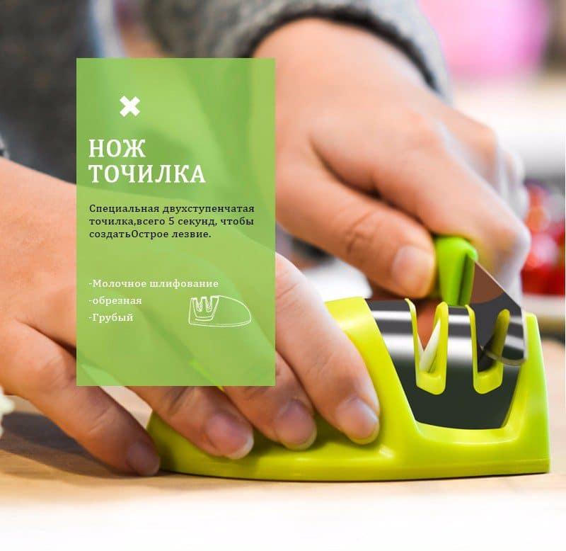 Портативная точилка для любых ножей купить на Алиэкспресс