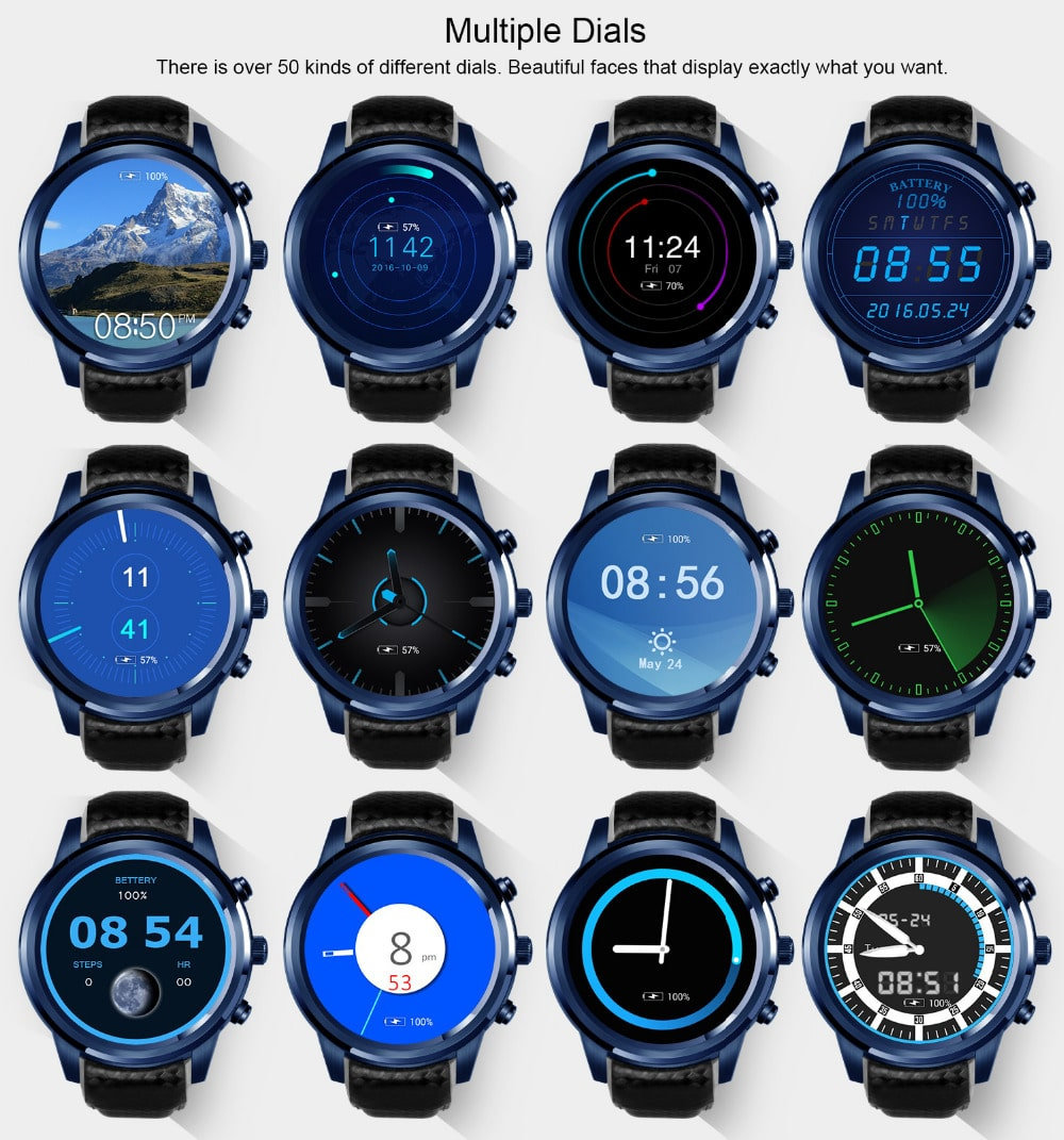 Стильные многофункциональные часы LEMFO LEM5 Smart Watch купить на Алиэкспресс