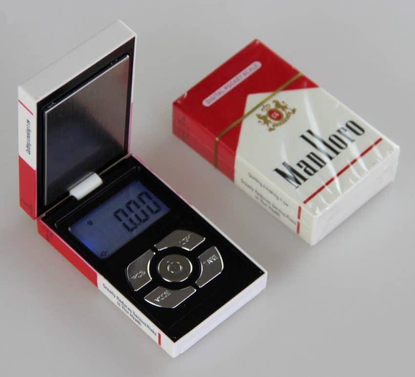 Мини весы в виде пачки сигарет купить на Алиэкспресс