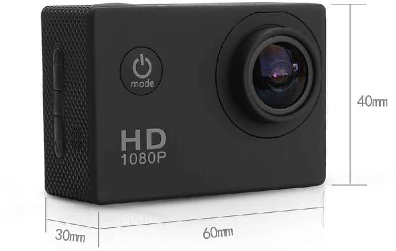 Недорогая экшн камера с богатой комплектацией купить на Алиэкспресс