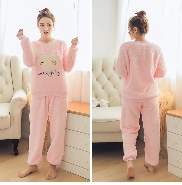 Милая теплая пижама купить на Алиэкспресс