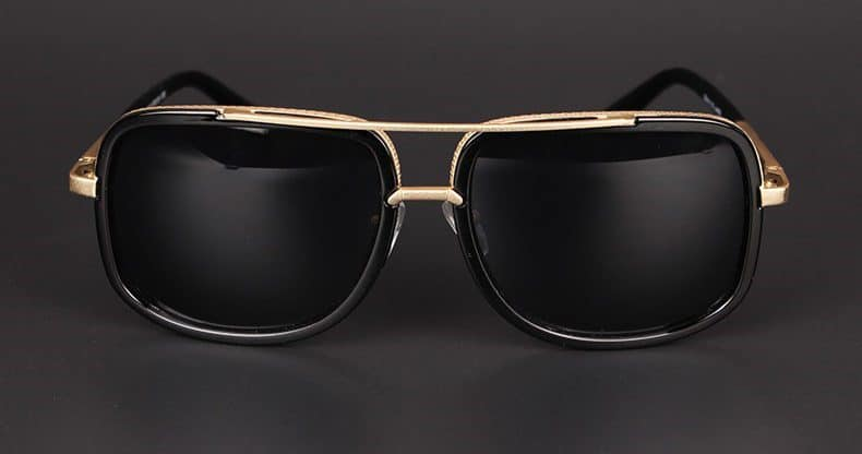 Стильные очки в металлической оправе купить на Алиэкспресс