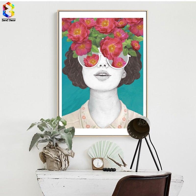 Картина «Девушка» купить на Алиэкспресс