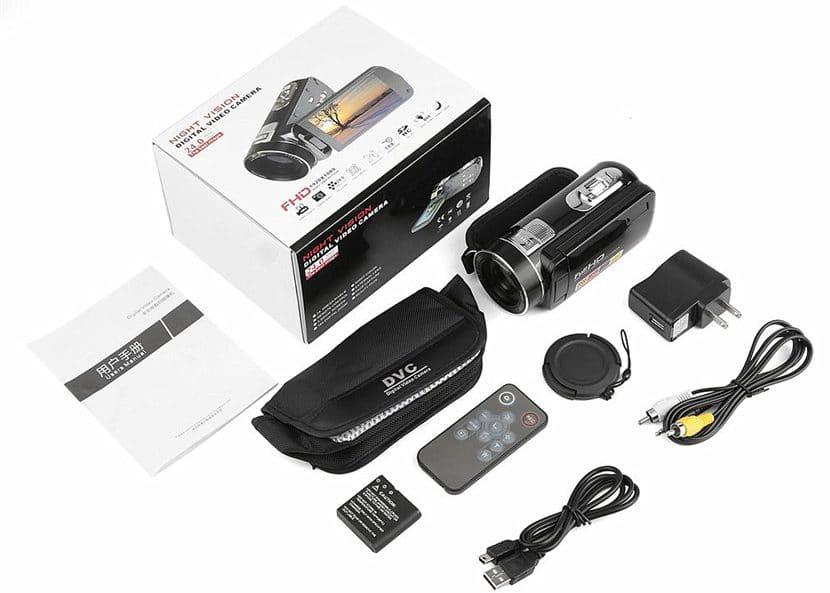Видеокамера со стабилизатором изображения и режимом ночной съемки купить на Алиэкспресс