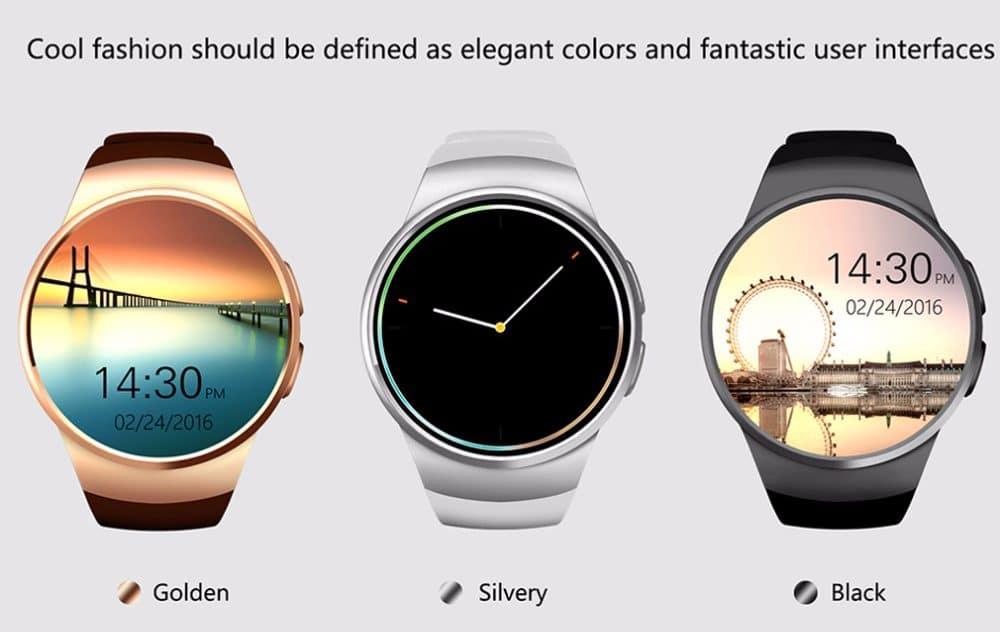 Элегантные смарт-часы King Wear Smart KW18 купить на Алиэкспресс
