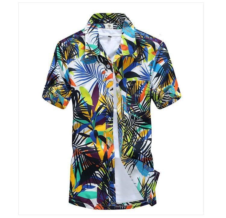Гавайская рубашка купить на Алиэкспресс