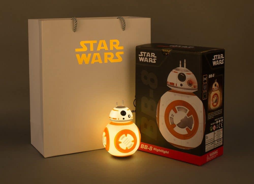 Светильник Star Wars BB-8 купить на Алиэкспресс