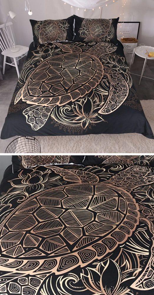 Постельное белье с черепахой купить на Алиэкспресс