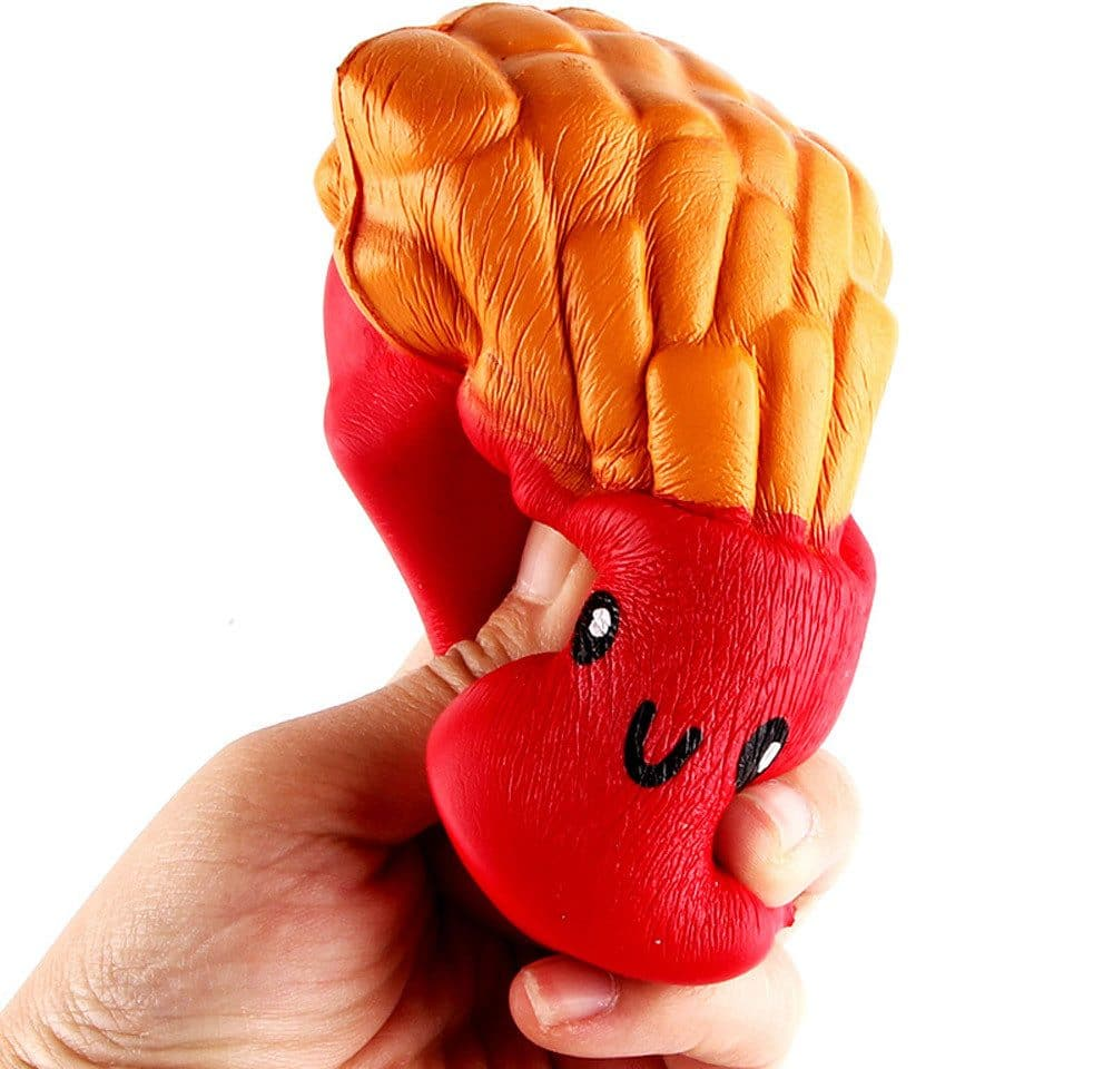 Картошка фри-антистресс купить на Алиэкспресс