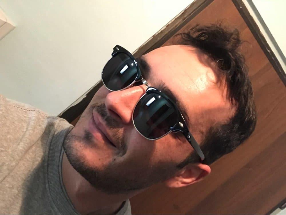 Поляризованные солнцезащитные ретро очки купить на Алиэкспресс