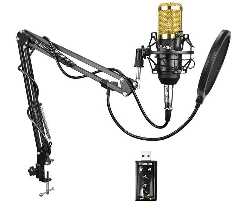 Студийный конденсаторный микрофон FELYBYbm800 купить на Алиэкспресс