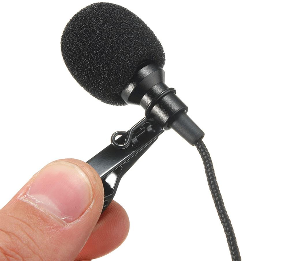 Петличный микрофон LEORY для лекций купить на Алиэкспресс