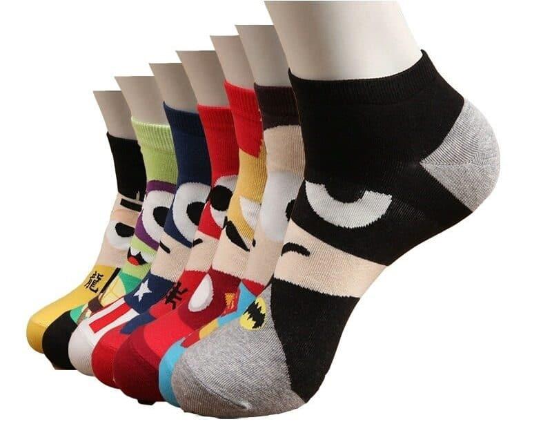 Короткие носки с супергероями купить на Алиэкспресс
