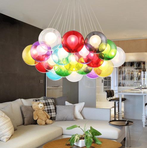 Люстра - воздушные шарики NEO Gleam купить на Алиэкспресс
