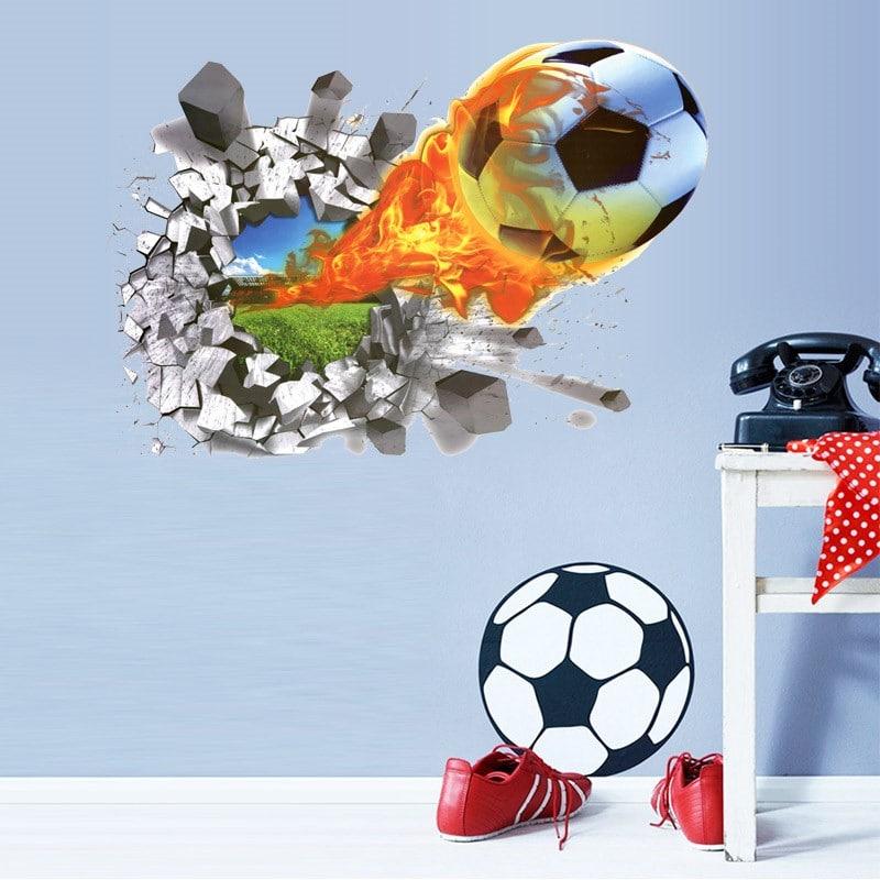 Наклейка «Футбольный мяч» купить на Алиэкспресс