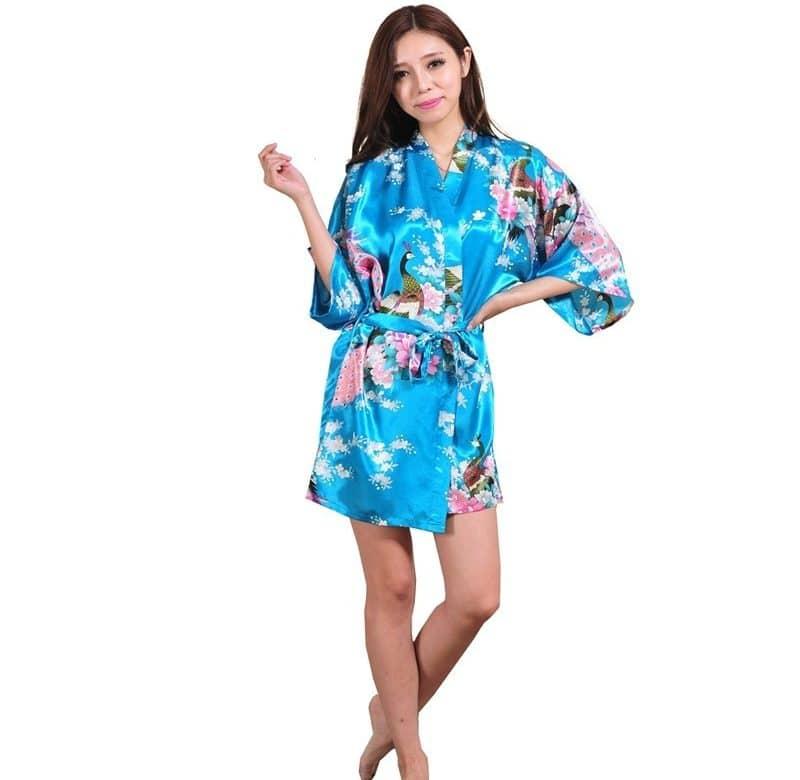 Цветочный халат купить на Алиэкспресс