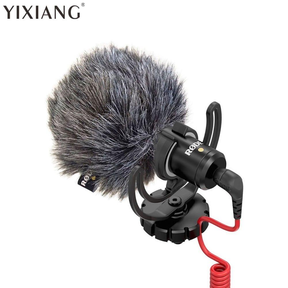 Компактный микрофон с ветрозащитой YIXIANG купить на Алиэкспресс