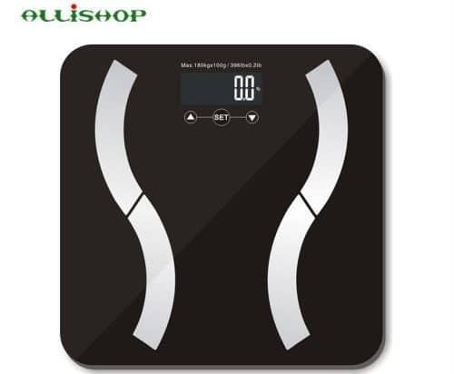Весы с анализатором жира ALLiSHOP купить на Алиэкспресс