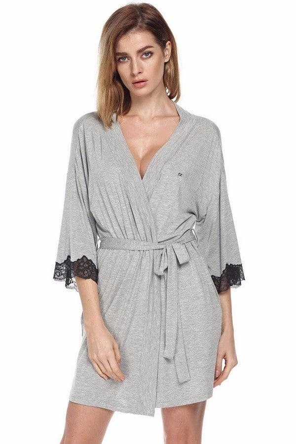 Повседневный женский халат купить на Алиэкспресс
