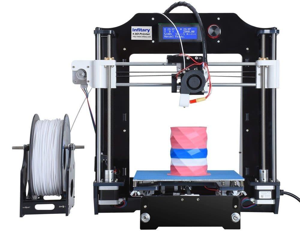 Недорогой хороший принтер 3D Infitary купить на Алиэкспресс