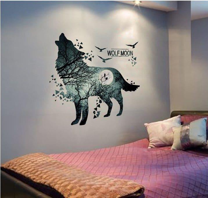 Наклейка «Волк» купить на Алиэкспресс