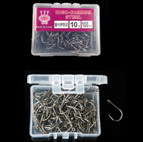 100 недорогих крючков для ловли некрупной рыбы купить на Алиэкспресс