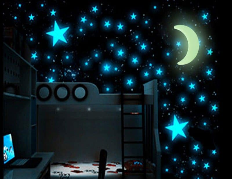 Светящиеся наклейки «Звездное небо» купить на Алиэкспресс