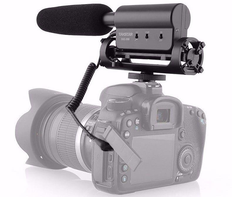 Микрофон для съемкиTakstar купить на Алиэкспресс