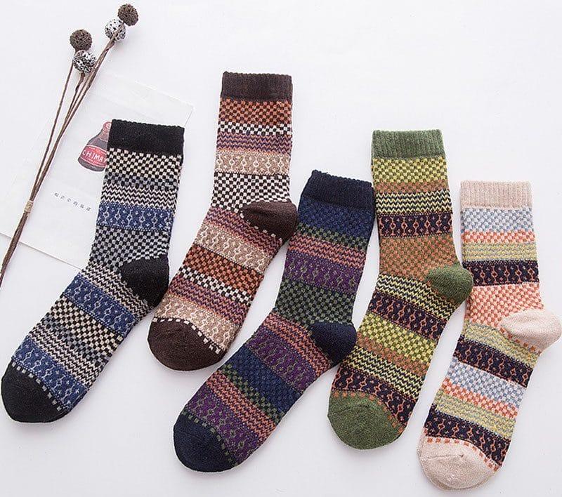 Теплые шерстяные носки купить на Алиэкспресс