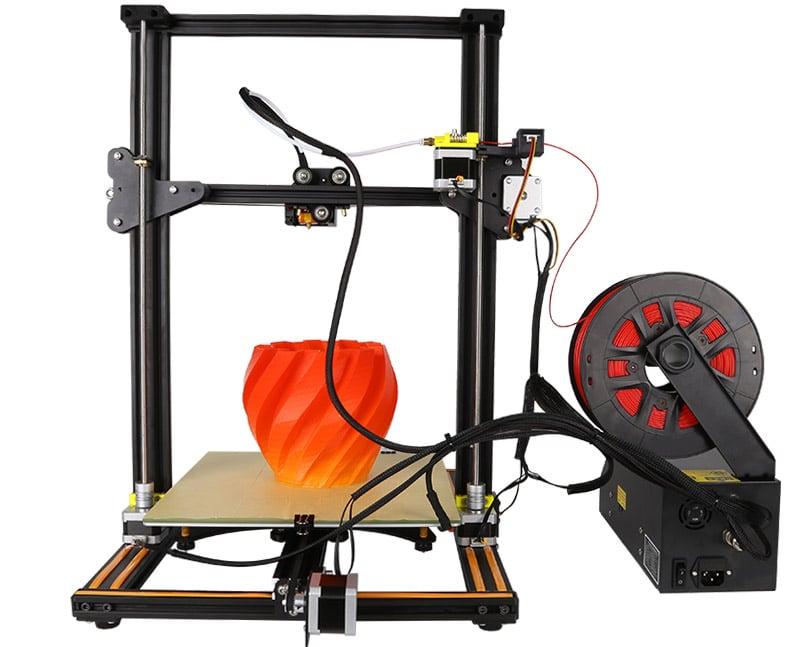 Быстрый 3D принтер Ender 4 с большой областью печати купить на Алиэкспресс