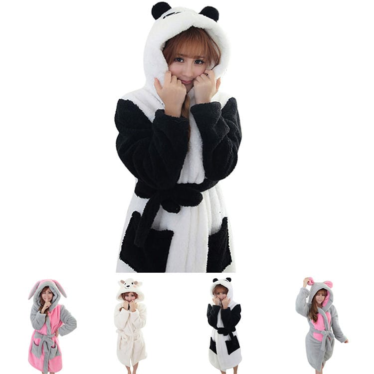 Милый халат в виде животных купить на Алиэкспресс