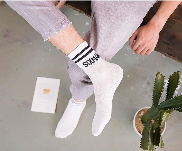 Хлопковые носки в стиле кэжуал купить на Алиэкспресс