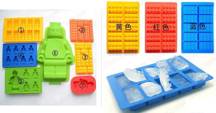 Силиконовые формы в виде Лего купить на Алиэкспресс