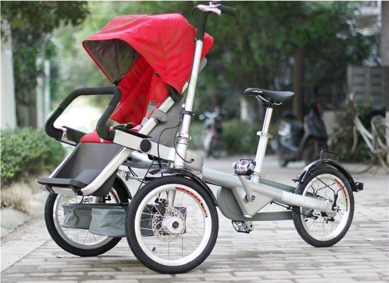 Коляска с велосипедом для мамыNucia купить на Алиэкспресс