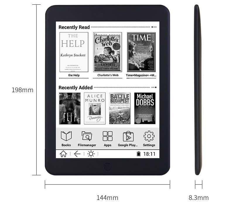 Электронная книга Boyue с высоким разрешением экрана купить на Алиэкспресс
