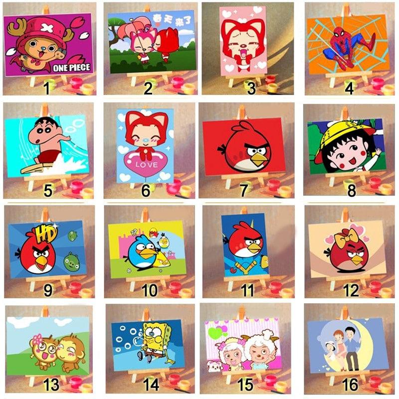 Картины по номерам для детей купить на Алиэкспресс