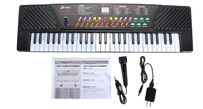 Синтезатор + 100 демо-песен купить на Алиэкспресс