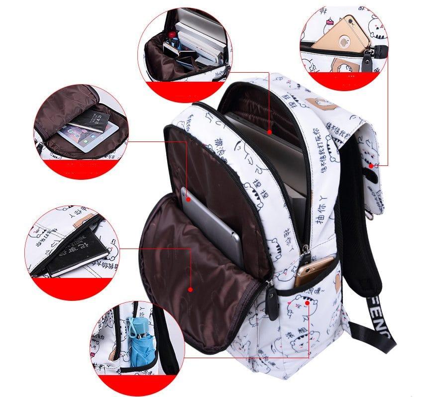 Милый рюкзак для подростков купить на Алиэкспресс