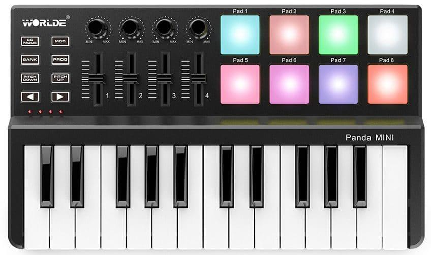 MIDI клавиатура купить на Алиэкспресс