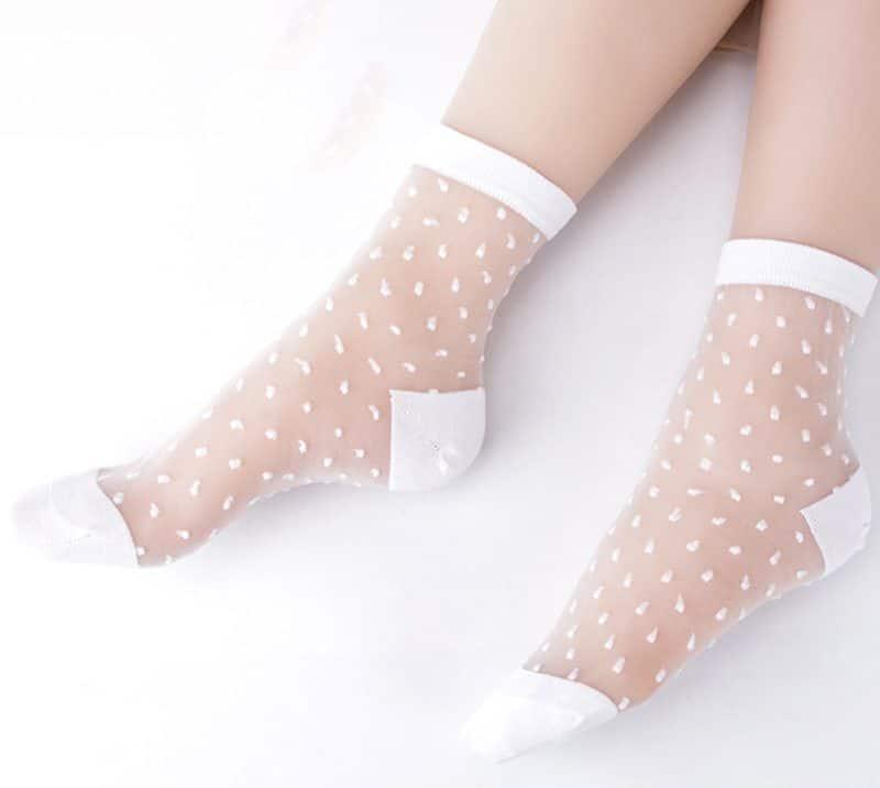 Прозрачные носки купить на Алиэкспресс