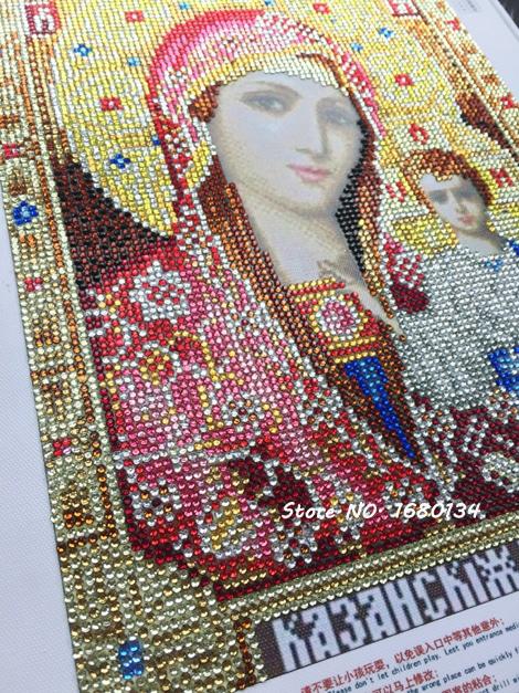Алмазная вышивка Иконы купить на Алиэкспресс