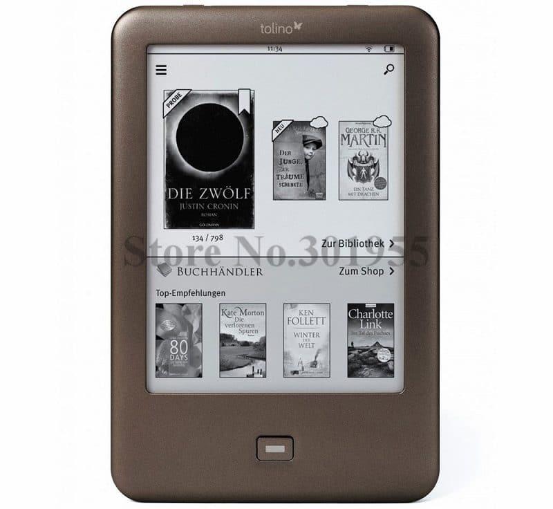 Электронная книга с подсветкой экрана Tolino купить на Алиэкспресс