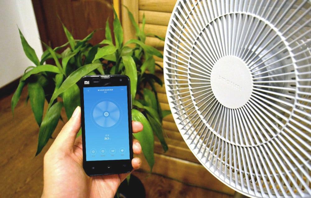Напольный умный беспроводной вентилятор XiaomiMi Smart Fan купить на Алиэкспресс