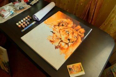 Картины по номерам на Алиэкспресс: 70 недорогих эскизов на любой вкус